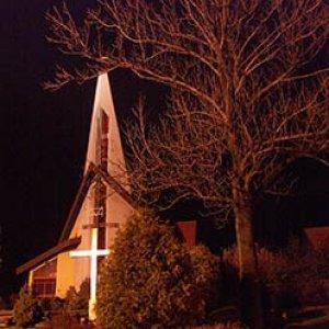 Kostol v Mosczanici.