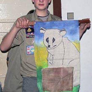 Medvedi dostali maľovaného medveďa - kapsičku