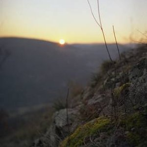 24.3.2005  19:53 / Západ Slnka z Krasína