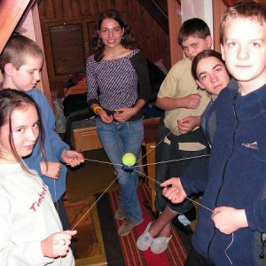 8.1.2005  21:34 / Večerná hra, pri ktorej sa muselo ukázať, že sme jeden tím