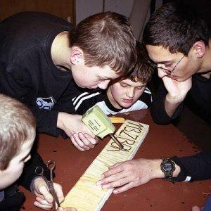Tajná činnosť družín (jeseň 2004)