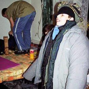 12.11.2004  22:19 / Hra na úvod jesenného tábora vo Vrútkach mohla navodiť atmosféru krutej zimy
