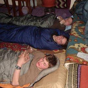 13.4.2003  15:02 / Kráľovský nocľah - skoro!