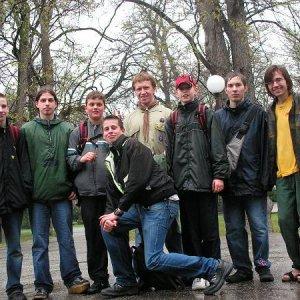9.4.2005  15:59 / Rýchlo posledná fotka a do sucha a tepla!