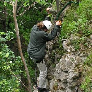 Odklínanie hradu Ostrý Kameň (17. až 19.6.2005)