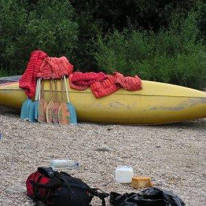 26.6.2005  7:52 / Loďky ešte odpočívajú