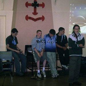 8.11.2005  23:02 / Prezentácia írskych skautov