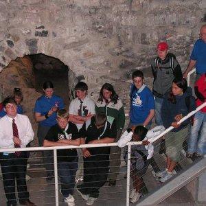 19.7.2005  12:43 / Základy jednej z veží hradu
