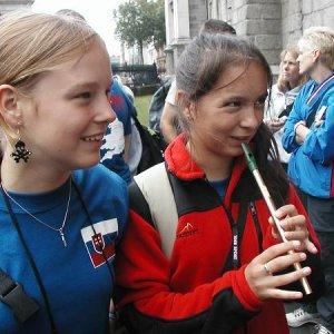 19.7.2005  16:32 / Testujeme írske píšťalky