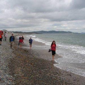 21.7.2005  11:03 / Prechádzku po pláži sme nemohli vynechať