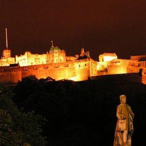 24.7.2005  23:48 / Edinburghský hrad
