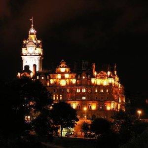 25.7.2005  0:00 / Edinburgh v noci
