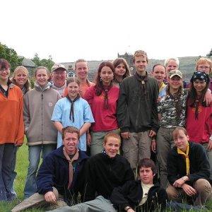 26.7.2005  9:33 / Celá naša výprava v Cartmeli - Lake District