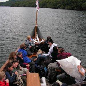 26.7.2005  10:18 / Cesta loďou na Windermare
