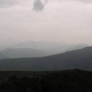 27.7.2005  14:03 / Pohľad smerom na najvyššiu horu Anglicka
