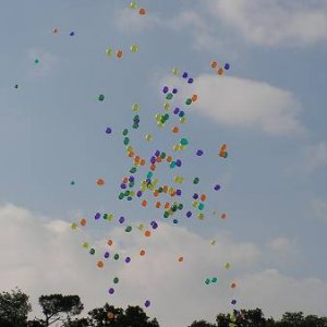 3.8.2005  9:28 / Veľa balónikov pri otváraní Európskeho dňa