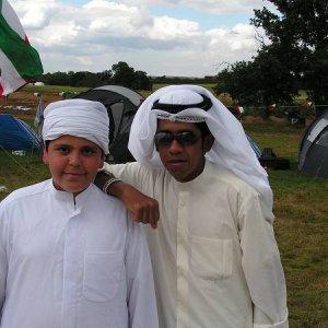 3.8.2005  16:03 / Food Festival - Skauti z Kuwaitu