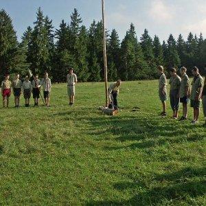 Deň na letnom tábore Rakša (17-31.8.2005)