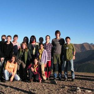 29.10.2005  15:41 / Spoločné foto na vrchole Lúčnej