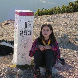 29.10.2005  15:47 / Klára pri hraničnom kameni